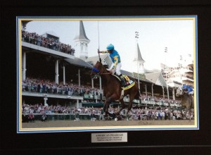 American Pharaoh- Kentucky Derby Finish Line