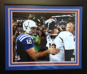 Manning Luck 1st Game