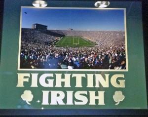 Notre Dame Stadium View